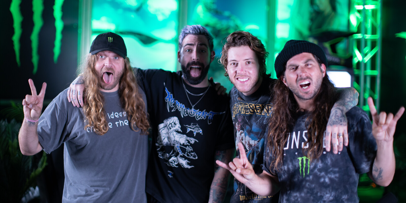 Images of Breathe Carolina from the 2021 Unleashed Podcast