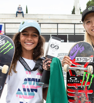 Images from World Skate Street World Championship. Rome. Italy