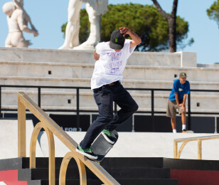 Images from World Skate Street Championship in Rome. Italy