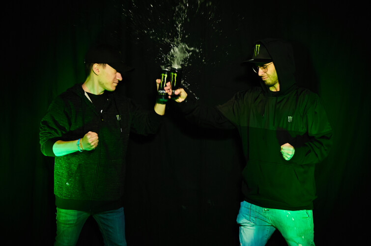 ERDT and EDOTAMA gamers from Notorious Legion team, lifestyle shooting