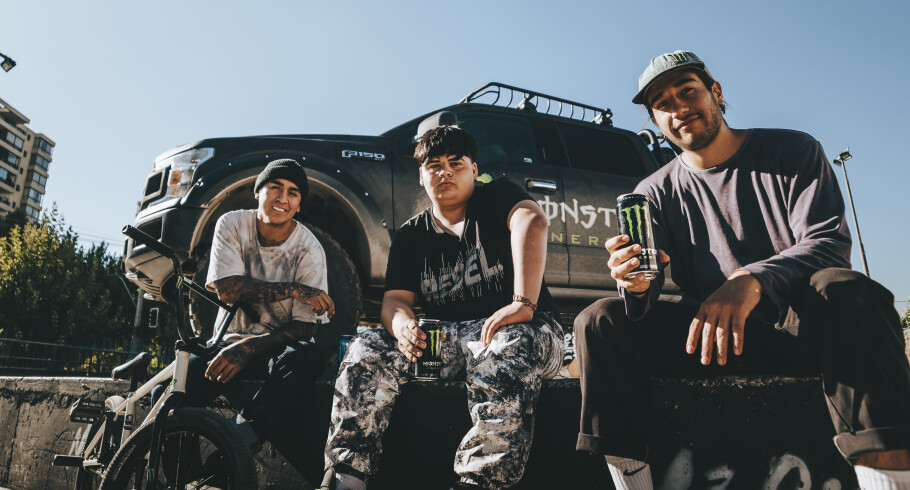Images of Kidd Tetoon with Monster Energy Athletes
