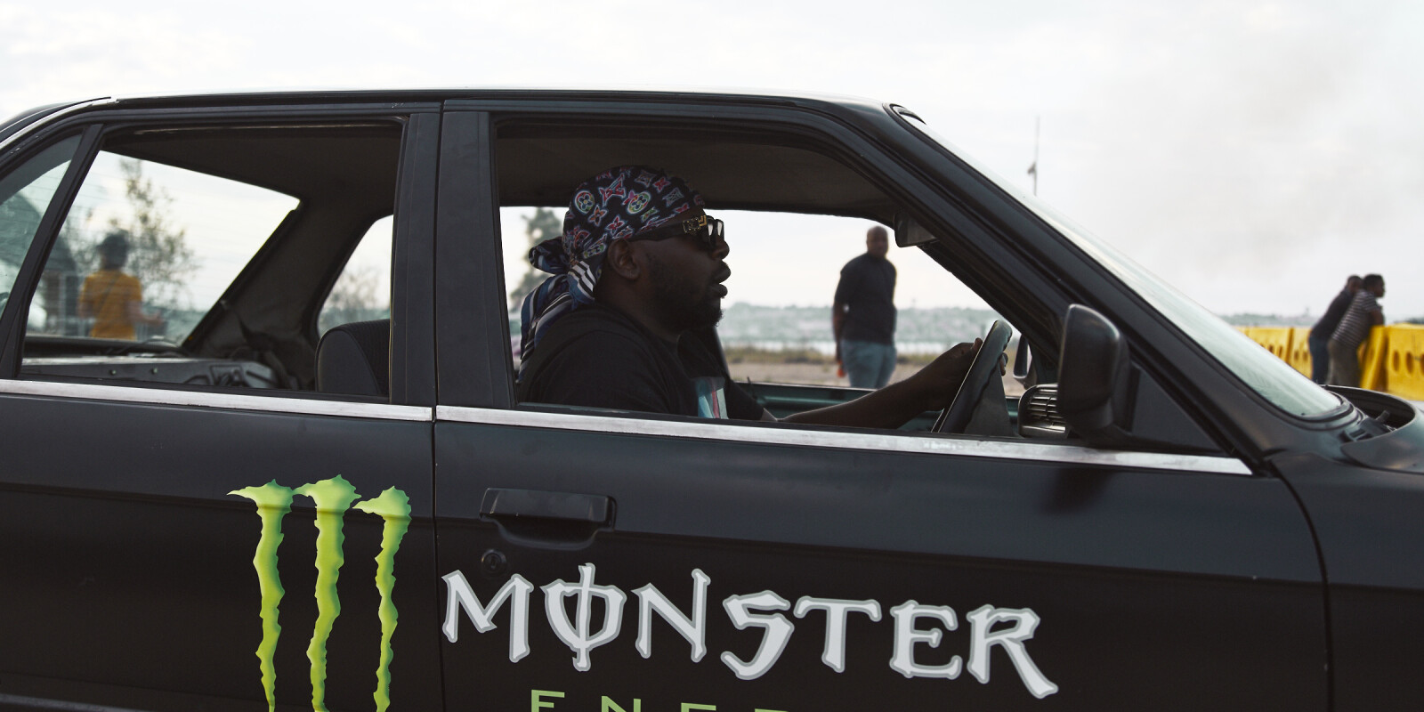 Photo Assets from the Spinning Monster shoot with DJ Maphorisa & Stacey Lee May.