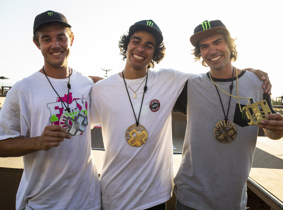 Assets from XGames 2021 BMX Park in Riverside, California