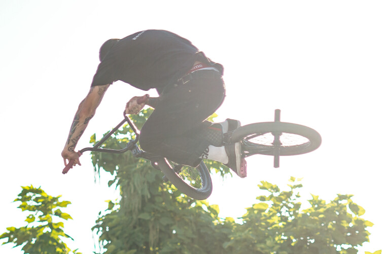 2021 Bmx day in Athens, Greece.