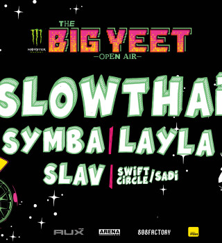 Event Material for the local Hip Hop Festival:  The Big Yeet - Open Air in Vienna, Austria.