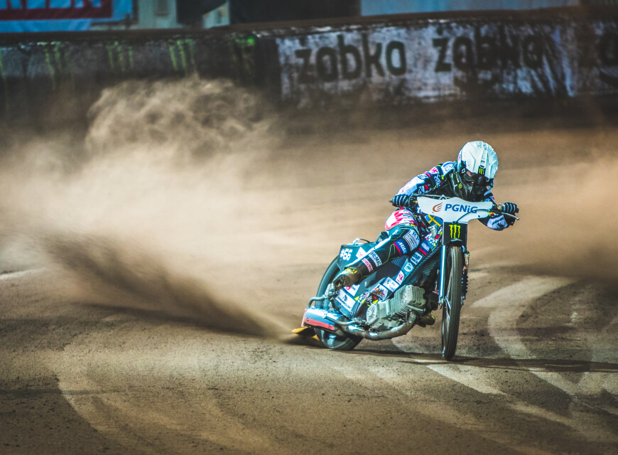 Images of Tai Woffinden from the 2021 Lublin Speedway Grand Pix