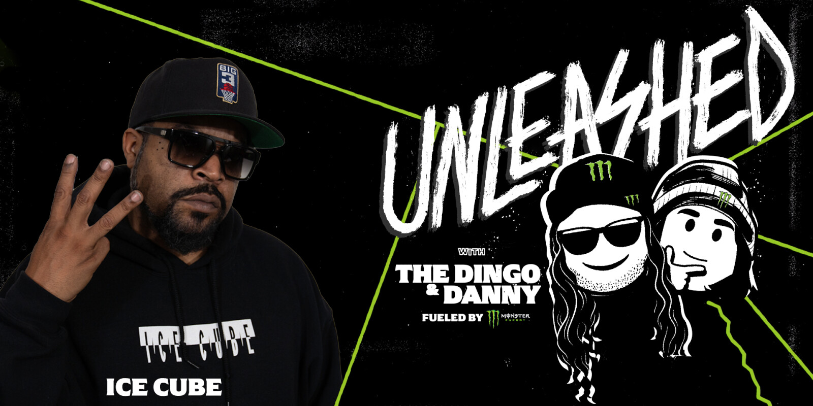 Unleashed Podcast With the Dingo, Fueled by Monster Energy featuring Ice Cube