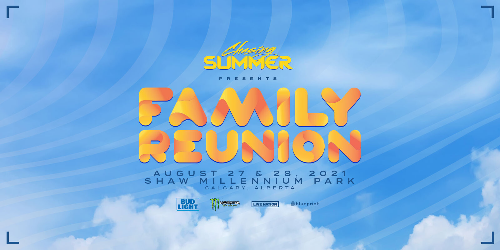 Poster for Canada event family reuinion