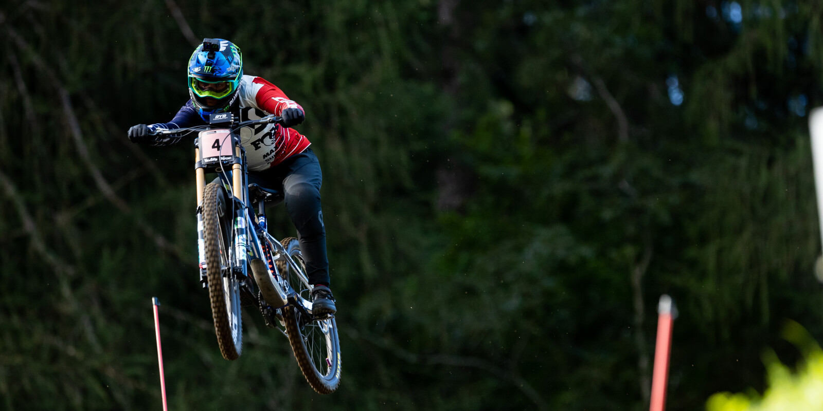 Shots from the MTB Downhill World Championships in Val di Sole, Italy