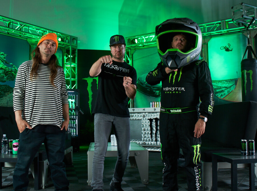 Images with Kurt Busch from Unleash Podcast