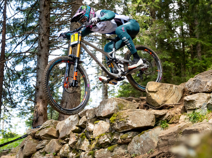 Images from UCI Downhill World Cup Lenzerheide