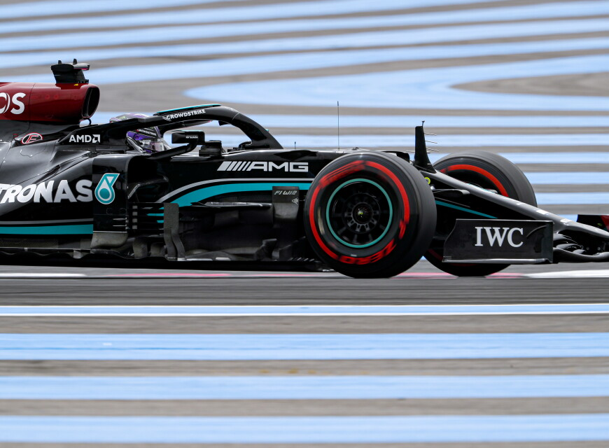 Mercedes-AMG Petronas Motorsport F1 Images from the 2021 French Grand Prix