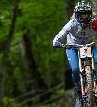 Images of Race number 1 from UCI Mountain Bike World Cup in Snowshoe West Virginia