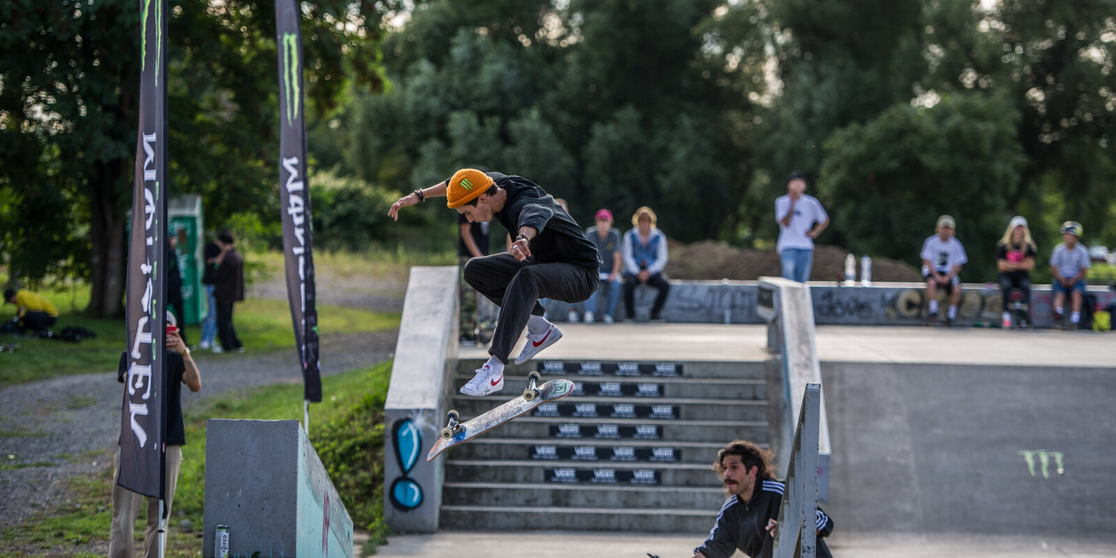 Grand Prix Beroun session Jam 2021 was a best trick contest in Beroun CZ with participation of world's skateboarders including ME ambassadors.