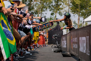 Images from the 2021 Skateboarding Street League Series in Salt Lake City, Utah August 26-28th