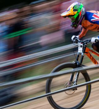 Images of Race number 2 from UCI Mountain Bike World Cup in Snowshoe West Virginia