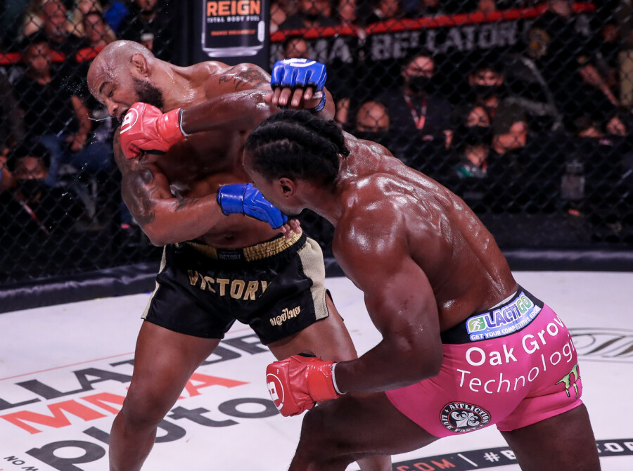 Images from the 2021 Bellator 266 Fight in San Jose, California
