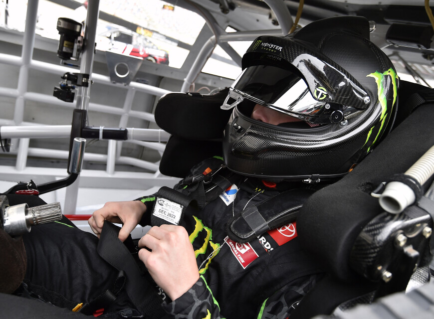 Images of Ty Gibbs at ARCA Menards Series East at Bristol Motor Speedway in Bristol, Tennessee