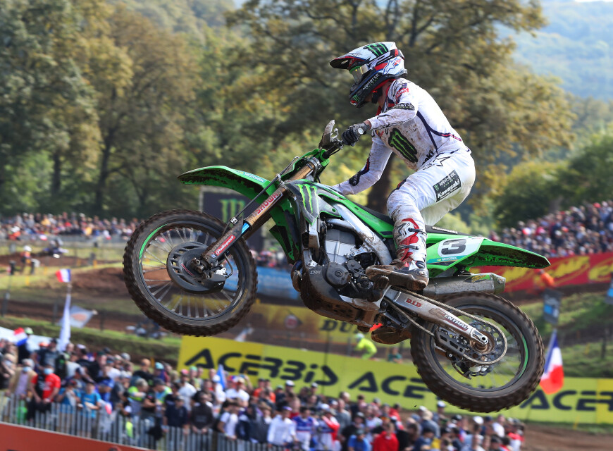 Images from the 2021 MXGP of France