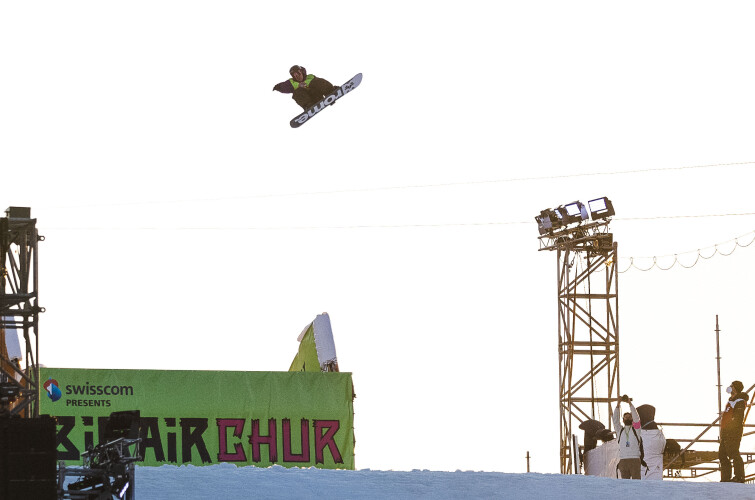 Images from the Big Air Chur in Chur, Switzerland