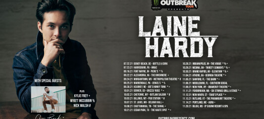 Photo assets for Outbreak Tour promo